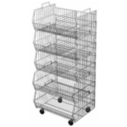 Wire Dump Bins & Baskets