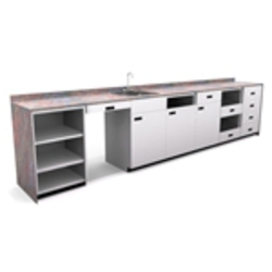 Lozier Metal Rx Cabinets
