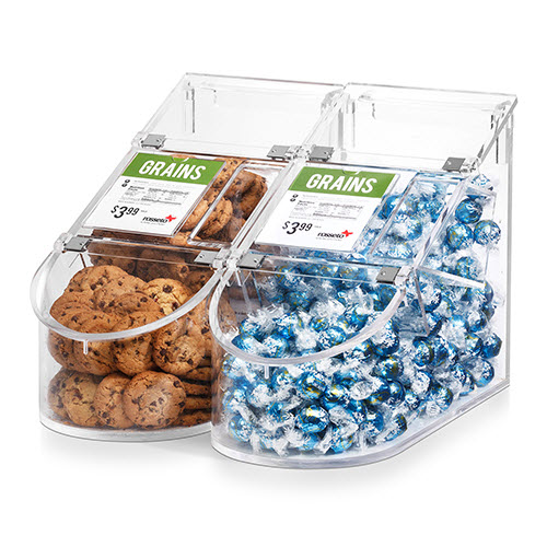 Acrylic Bulk Scoop Bins
