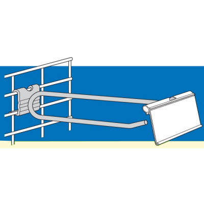 "Flip Scan Crossbar/Grid Hook (11"")"