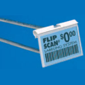 "Flip Scan Label Holders, 1.25"" x 2"""