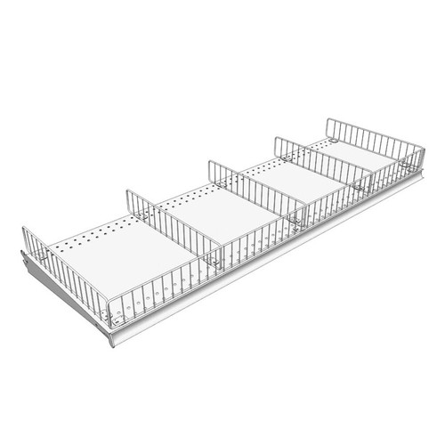 Lozier 6-inch Wire Dividers and Fencing