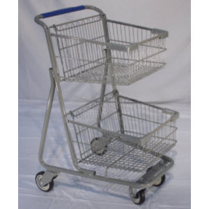 Shopping Carts, 2-Tier