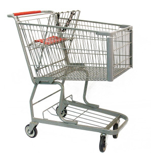 Shopping Carts, Scanner, Metal