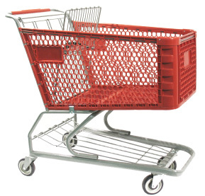 Shopping Carts, Plastic Deep Scanner