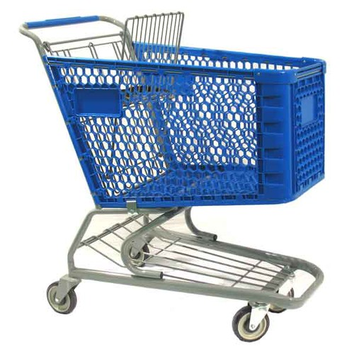 Shopping Carts, Plastic, Regular