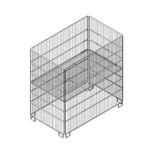 Rectangular Wire Dump Bin