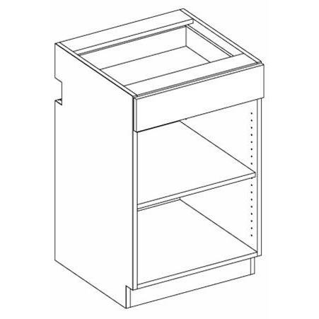 RX13 Combo Drawer Unit 1-drawer/1-adj shelf 5-Widths Available