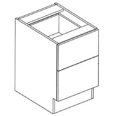 "RX17A Two File Drawer Desk Unit, 29""H 2-Widths Available"