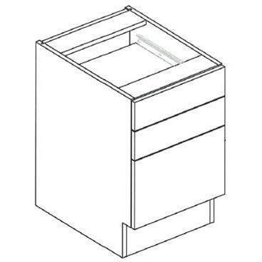 "RX17B File / Drawer Desk Unit, 29""H 2-Widths Available"