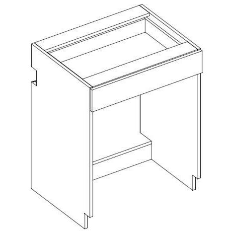 "RX30 One Drawer Desk Unit, 29""H 2-Widths Available"