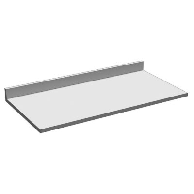 Rx Counter Top (96x30), Gray Laminate