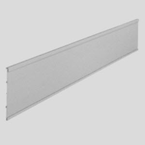 "Flat Sign Channel Header 8"" Tall"