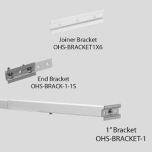 C-Channel Sign Attachment Brackets