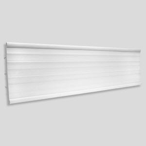 Flat Sign C-Channel Header 10.5""