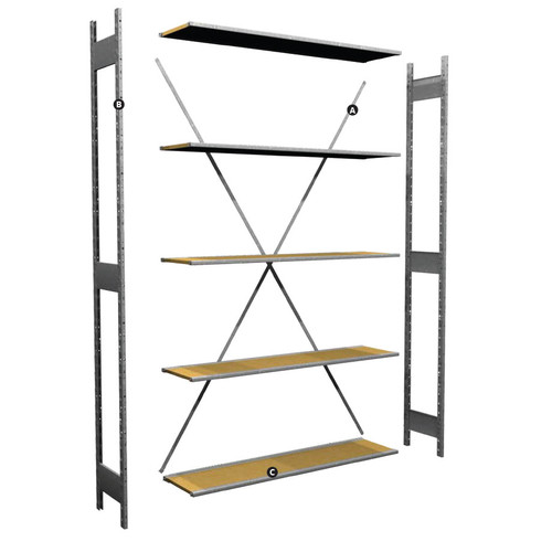 Storage Shelving Sections