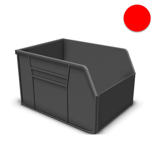 Uniweb Storage Bins, Red