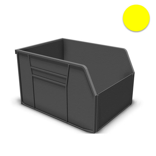 Uniweb Storage Bins, Yellow