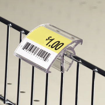 Wire Basket and Wire Fencing Price Tag Label Holders