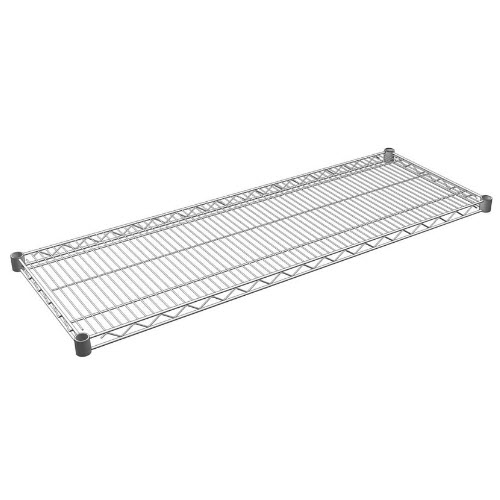 Four Post Wire Shelves, Charcoal