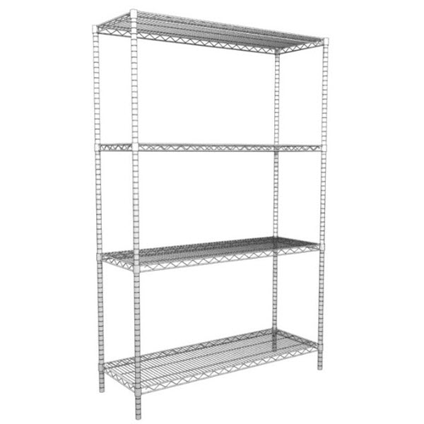 Four Post Wire Shelving