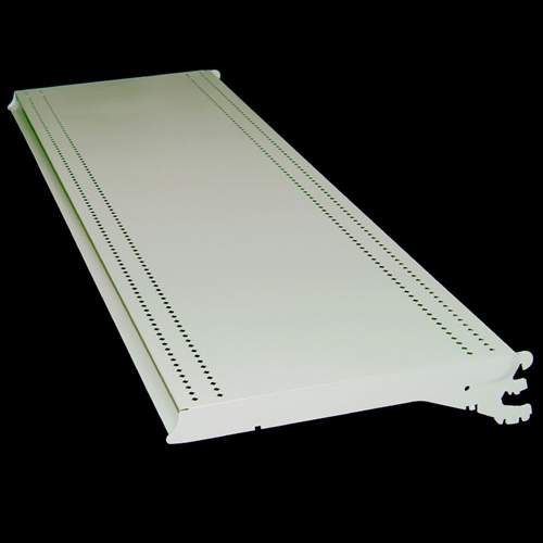 "36"" Streater Upper Shelves, Decor White"