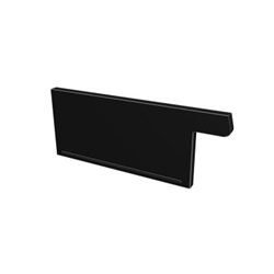 Lozier Base End Trim, Charcoal