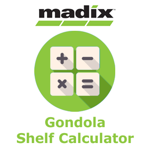 Madix Gondola Shelving Calculator